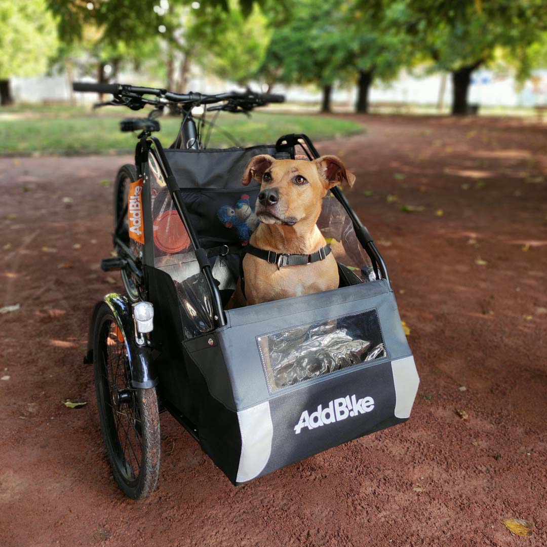 vélo cargo addbike casque pliable overade
