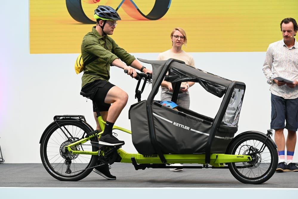 vélo cargo CARGOLINE FS 800 - Eurobike 2021