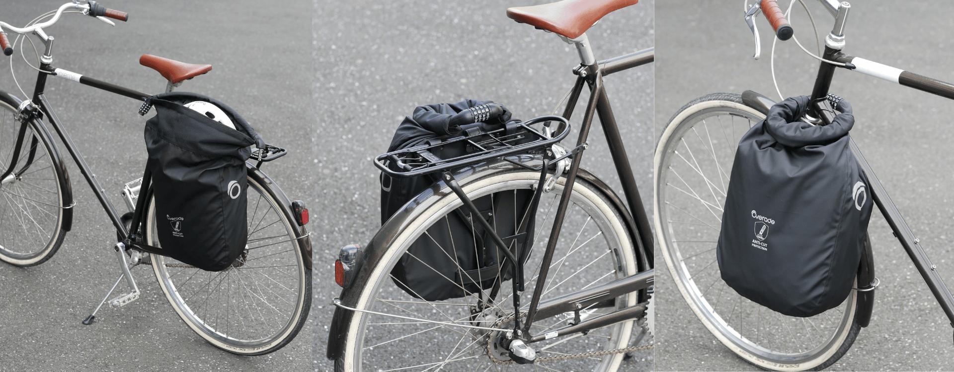 Loxi 15L : la sacoche sécurisée pour vélo